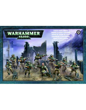Cadian Shock Troops