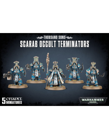 Thousand Sons Scarab occult...