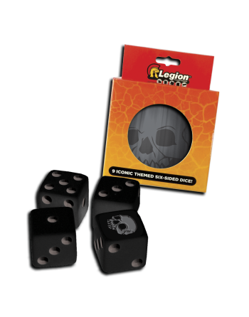 Legion - D6 Dice Tin -...